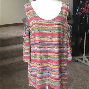 Multi colored tunic design is in the details